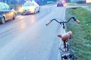 Wypadek w udziałem nastoletniej rowerzystki w Bielicach