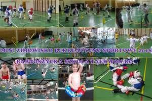 Bartoszycka Szkoła Taekwondo zorganizowała mini zimowisko rekreacyjno-sportowe