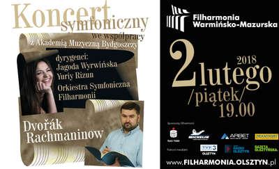 Koncert symfoniczny we współpracy z Akademią Muzyczną Bydgoszczy