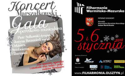 Gala operetkowo-musicalowa w olsztyńskiej filharmonii