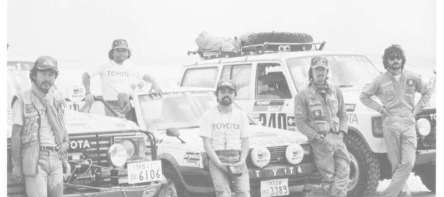 Toyoty zmagania w Rajdzie Dakar