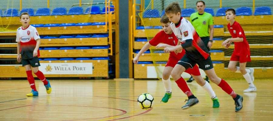 Piłkarze AP Ostróda byli najlepsi w hali OCSiR