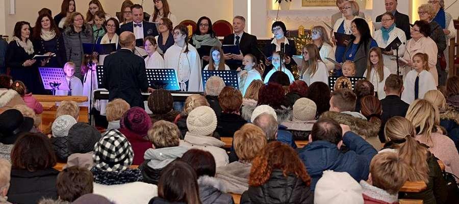 W ostatnią niedzielę w kościele przy ul. Polnej w Lidzbarku Warmińskim odbył się Wieczór kolęd i pastorałek