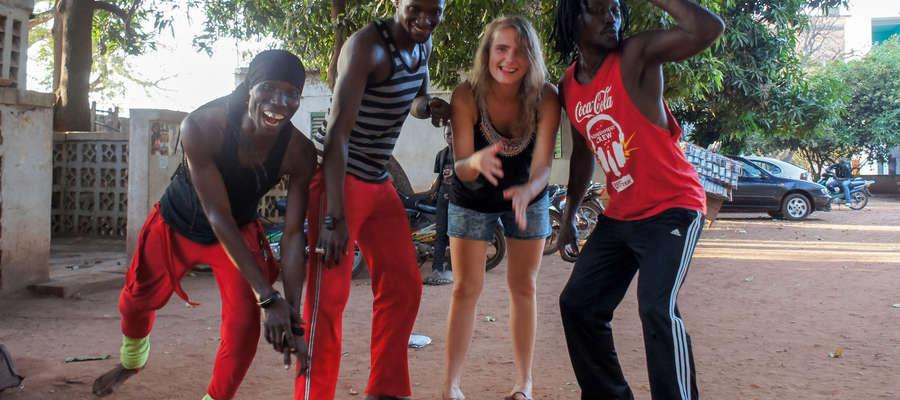 Anika Kamińska w Afryce