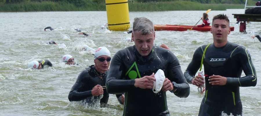 Sztandarową imprezą Susza są zawody triathlonowe