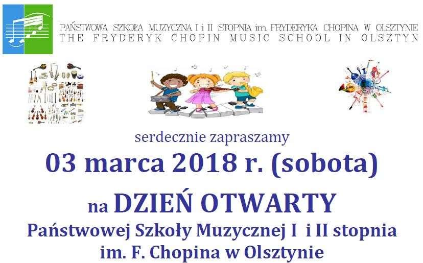Dzień Otwarty Państwowej Szkoły Muzycznej w Olsztynie - full image