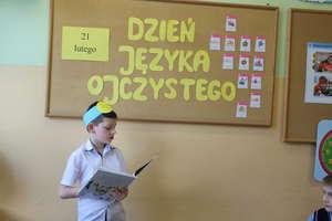Dzień Języka Ojczystego w szkole w Bezledach