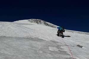 Strażakom z Olsztyna nie udało się wejść na Elbrus. Ale walczą dalej [FILM]