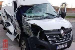 Hiszpańska policja zatrzymała mieszkańca Warmii i Mazur. Rozbitym busem chciał wrócić do kraju?