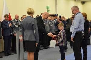 Minister Brudziński wyróżnił ośmioletniego Przemka z Rańska