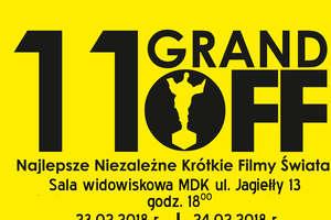Zapraszamy na pokaz najlepszych filmów 11. Festiwalu Grand Off