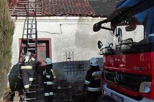 Pożar komina w Krekolach