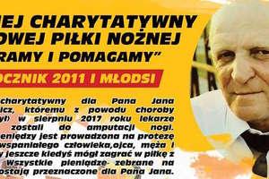 Skrzaty zagrają w Bartoszycach charytatywnie dla pana Jana