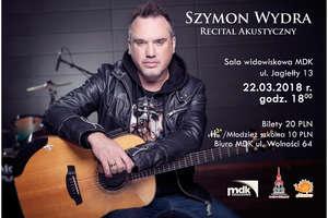 W Działdowie zaśpiewa Szymon Wydra