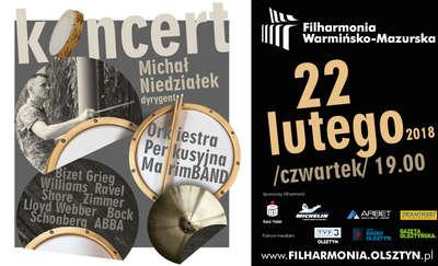 Koncert MarimBAND. Melodyczna orkiestra perkusyjna zagra w olsztyńskiej filharmonii