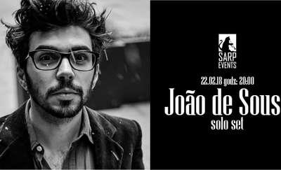 Koncert Portugalczyka Joao de Sousa w Olsztynie