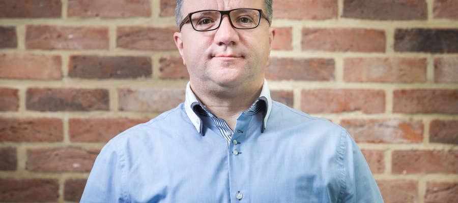 Jacek Szczuka, właściciel Przedsiębiorstwa Budowlanego Szczuka
