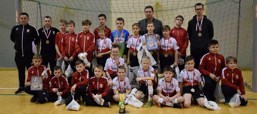 Piłkarze AP I Ostróda zajęli 3. miejsce w turnieju o puchar starosty ostródzkiego