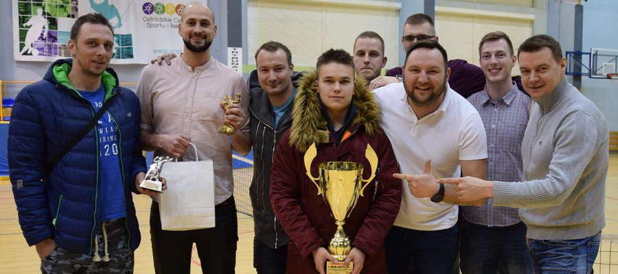 Winners - trzykrotni siatkarscy mistrzowie Ostródy