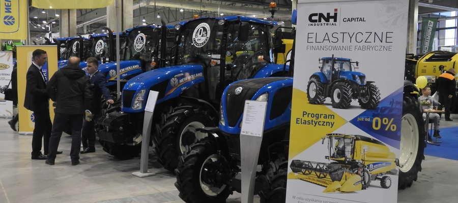 W halach targowych Expo Mazury zaprezentowało się ponad 200 producentów i dystrybutorów maszyn i urządzeń rolniczych