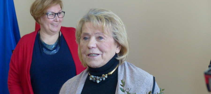 Irena Nowicka tytuł odebrała podczas sesji rady miasta (poniedziałek 26 lutego)