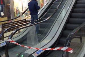 Naprawa schodów ruchomych zmęczyła gości Galerii... Są już naprawione, ale czekają jeszcze na odbiór