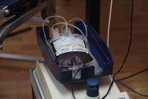 Zbiórka krwi u strażaków