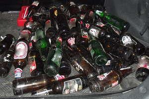 Dzielnicowy zatrzymał nietrzeźwego rowerzystę podejrzanego o kradzież pustych butelek po piwie