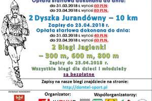 29 Maraton Juranda i 2 Dyszka Jurandówny już 13 maja!