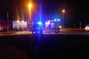 Strażackie podsumowanie: dwa wypadki i gaszenie traw