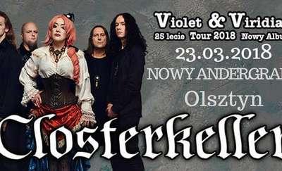 Violet & Viridian Tour 2018. Closterkeller w Olsztynie