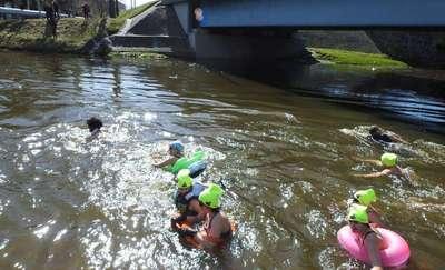 V Pływanie Morsów w Rzece Łynie