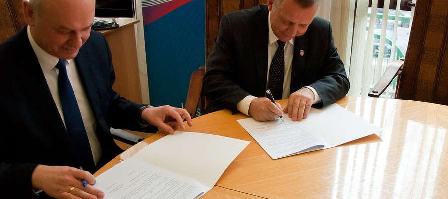 Główny Inspektor Ochrony Roślin i Nasiennictwa i Szef Krajowej Administracji Skarbowej podpisali porozumienie 20 marca 2018 r.