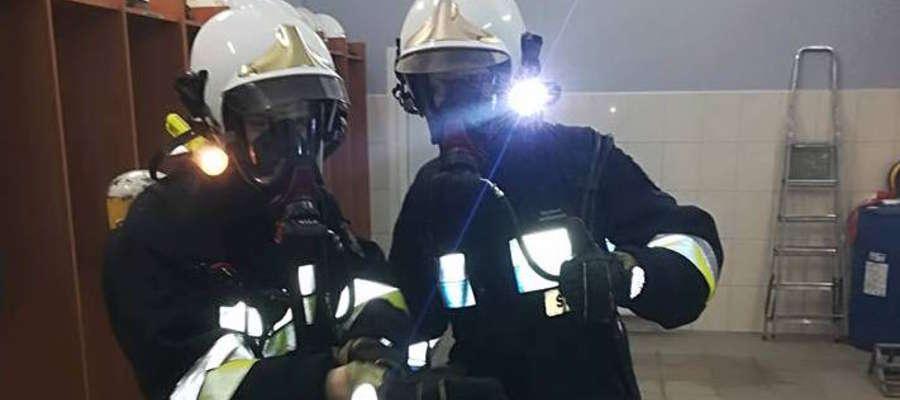 Ćwiczenia strażaków z OSP Spytkowo