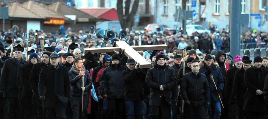Droga krzyżowa w Elblągu 2018 r.