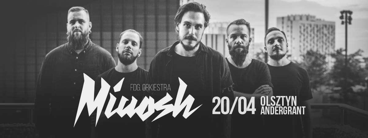 Już 20 kwietnia olsztyński koncert Miuosh x FDG. Orkiestra - full image