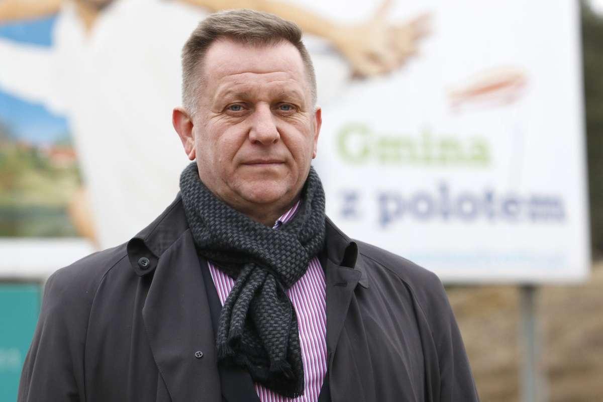 Henryk Pach,  prezes Warmińsko-Mazurskiego Okręgowego Związku Rugby.