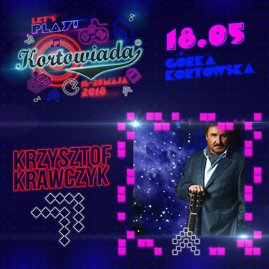Krzysztof Krawczyk kolejnym artystą Kortowiady