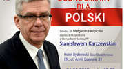 Marszałek Stanisław Karczewski w sobotę porozmawia z ełczanami