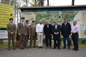 Delegaci z Izraela podziękowali strażnikom historii
