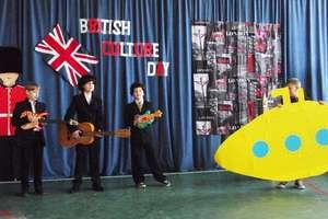 Dzień  Kultury  Brytyjskiej w Szkole Podstawowej w Żydowie