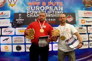 Dwaj Markowie złotymi medalistami otwartych mistrzostw Europy w trójboju siłowym
