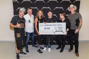 Metallica przekazała 80 tysięcy złotych na Banki Żywności w Polsce!