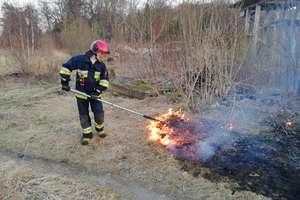 Strażackie podsumowanie: płonące pobocza i nieużytki