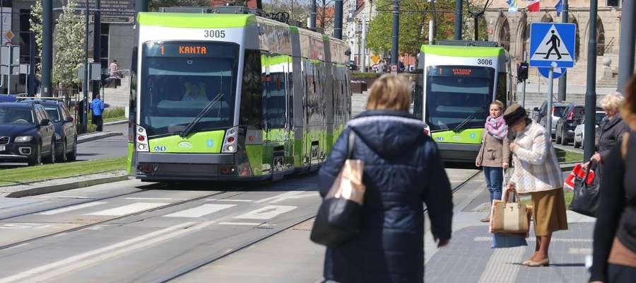 Olsztyńskie tramwaje prawie najszybsze w Polsce