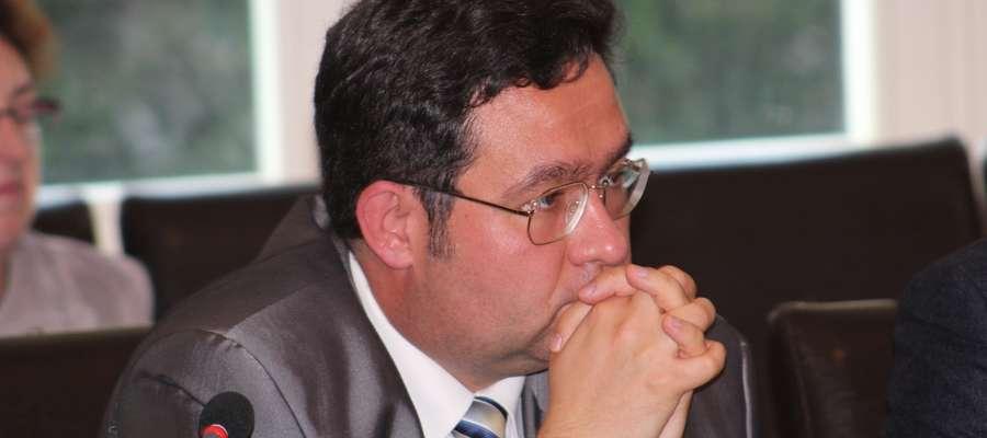 Dominik Tarnowski - były starosta, a obecnie radny miejski i nowo powołany dyrektor muzeum w Mrągowie
