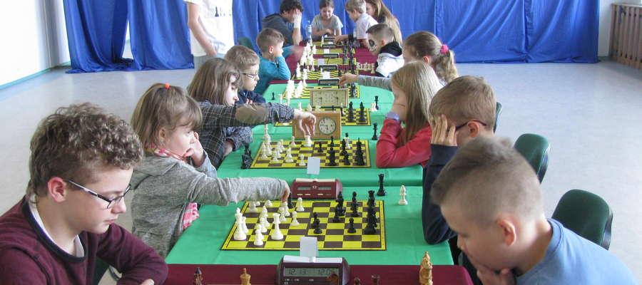 Wiosenny turniej szachowy odbył się 21 kwietnia w hali sportowej Ośrodka Sportu i Rekreacji w Ornecie