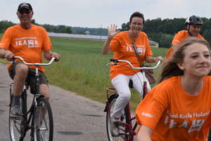 Świętowaliśmy Dzień Króla Holandii. W rajd rowerowy ruszyło ponad 200 osób