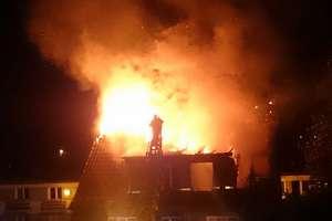 Dwa groźne pożary w Ornecie