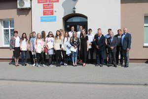 Inauguracyjna sesja młodzieżowej rady gminy Płośnica